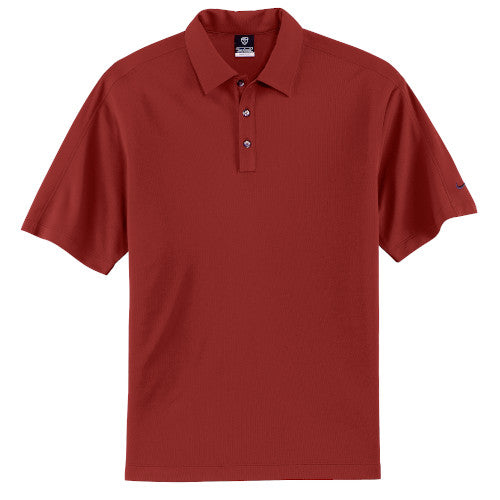 Team Red Nike Tech Dri-FIT Polo With Logo