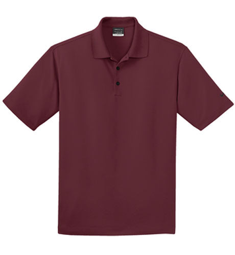 Team Red Nike Dri-FIT Micro Pique Polo With Logo