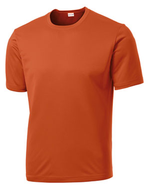 Texas Orange Custom Dry Performance T-Shirt
