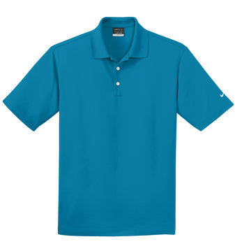 Tidal Blue Nike Tall Dri-FIT Micro Pique Polo With Logo