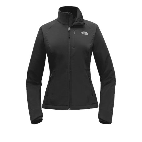 TNF Black Custom The North Face Ladies Soft Shell Jacket