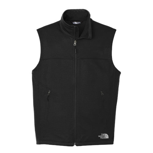 TNF Black Custom The North Face Soft Shell Vest Jacket