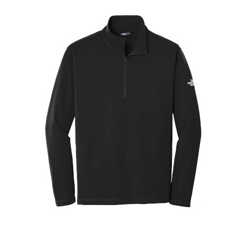 TNF Black Custom The North Face Tech Quarter Zip Fleece Jacket