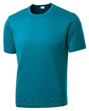 Tropic Blue Custom Dry Performance T-Shirt