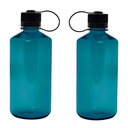 Trout Green Custom Nalgene 32oz Narrow Mouth Bottle