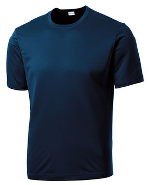 True Navy Custom Dry Performance T-Shirt