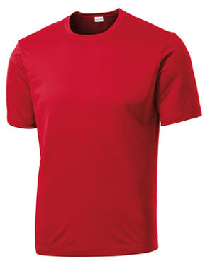 True Red Custom Dry Performance T-Shirt