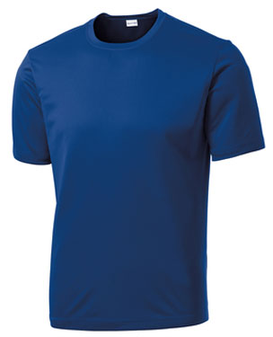 True Royal Custom Dry Performance T-Shirt