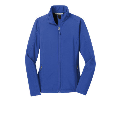 True Royal Custom Ladies Soft Shell Jacket