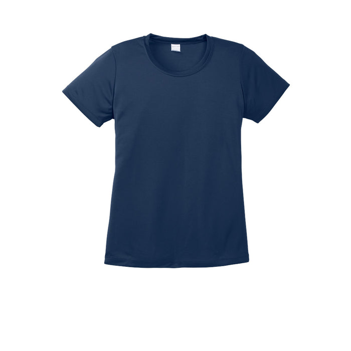 True Navy Custom Ladies Dry Performance T-Shirt