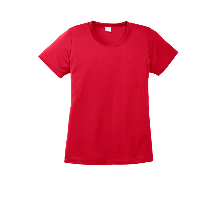 True Red Custom Ladies Dry Performance T-Shirt