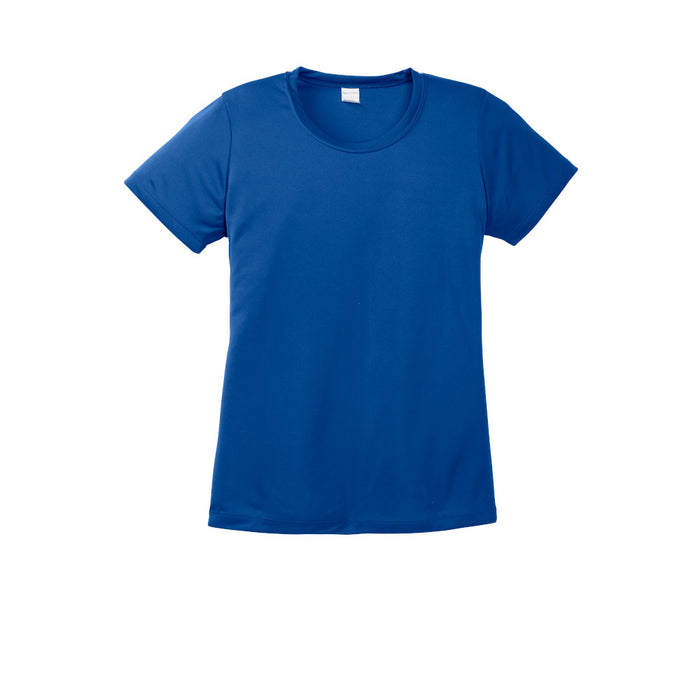 True Royal Custom Ladies Dry Performance T-Shirt