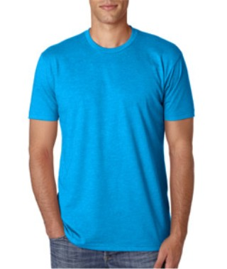 Turquoise Custom Next Level Premium T-Shirt