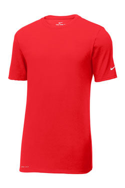 University Red Custom Nike Cotton T-Shirt