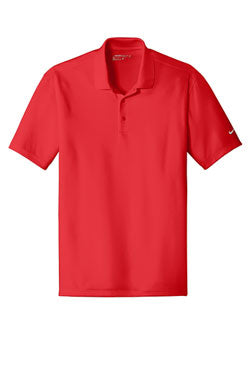 University Red Nike Dri-FIT Players Polo with Flat Knit Collar With Logo