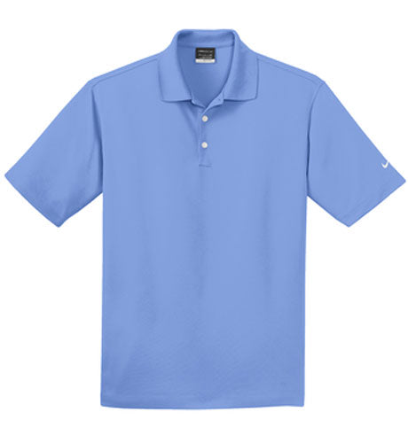 Valor Blue Nike Dri-FIT Micro Pique Polo With Logo