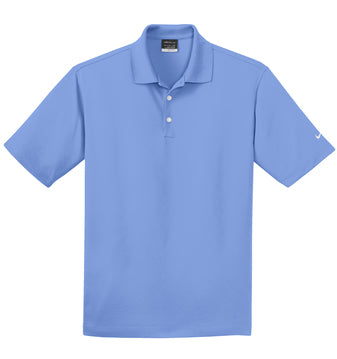 Valor Blue Nike Tall Dri-FIT Micro Pique Polo With Logo