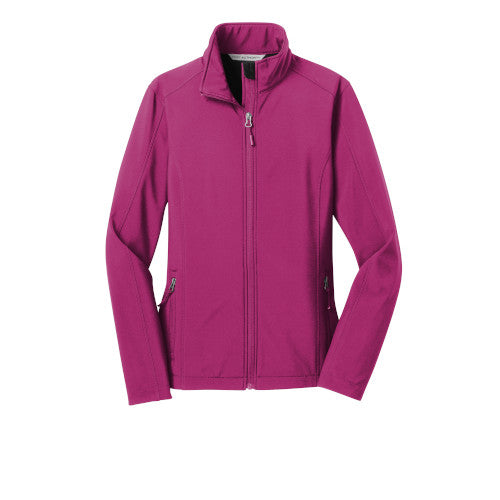 Very Berry Custom Ladies Soft Shell Jacket
