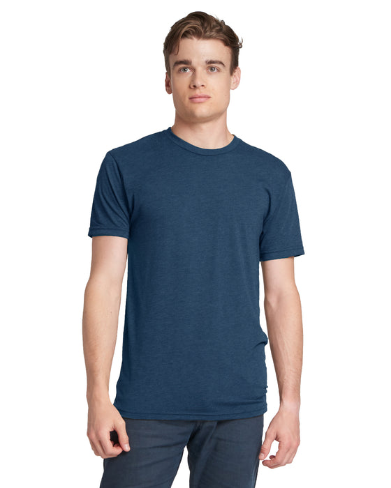 Vintage Navy Custom Next Level TriBlend T-Shirt