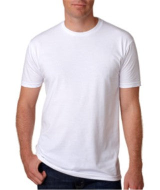 White Custom Next Level Premium T-Shirt