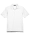 White Devon & Jones Pima Pique Polo With Logo