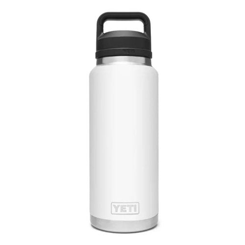 White Custom YETI 36 oz Rambler Bottle