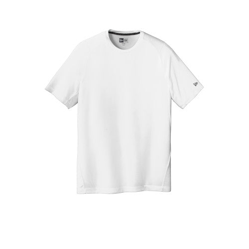 White Custom New Era Series Performance Crew Tee