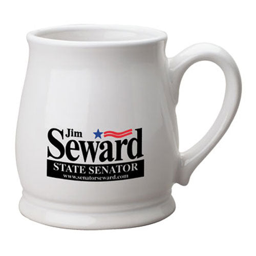 White Custom Spokane Coffee Mug