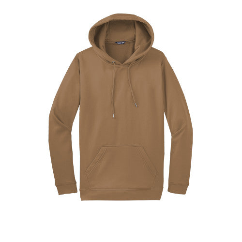 Woodland Brown Custom Dry Performance Hoodie Sweatshirt