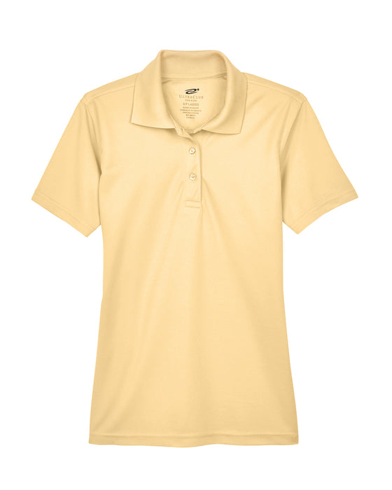Yellow Haze Ladies Dry Wicking Polo With Logo