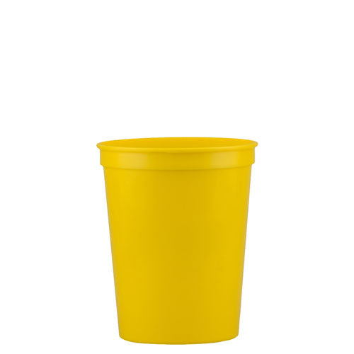 Yellow Custom Stadium Cup 16oz