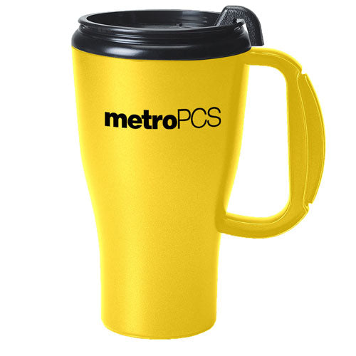 Yellow Custom Travel Mug 16oz
