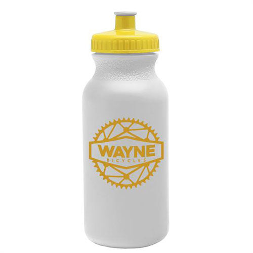 Yellow Custom USA Made Water Bottle