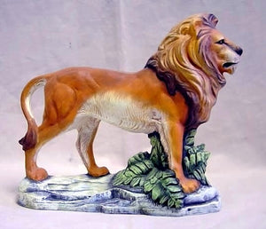Ready-to-paint Lion.