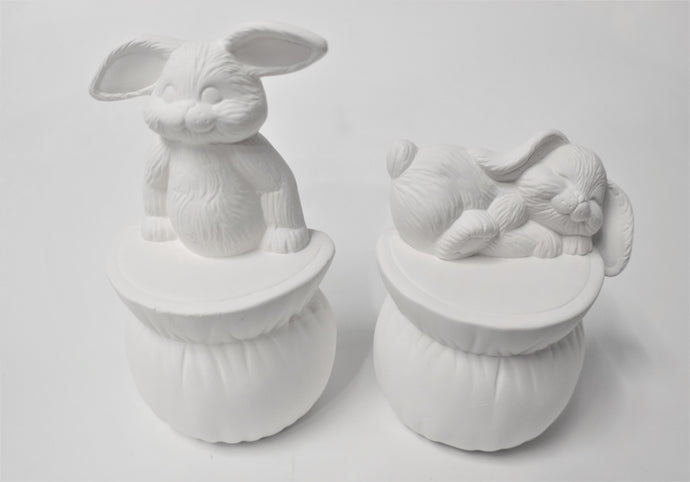 Bunnies Set Unpainted