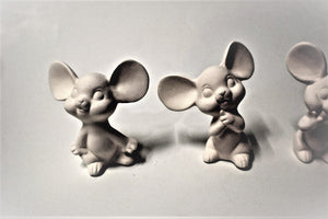 Three Cute Mouses Set