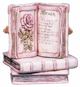 Mother Book Ceramic Bisque