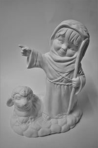 A Shepherd Figurine Ready to Paint
