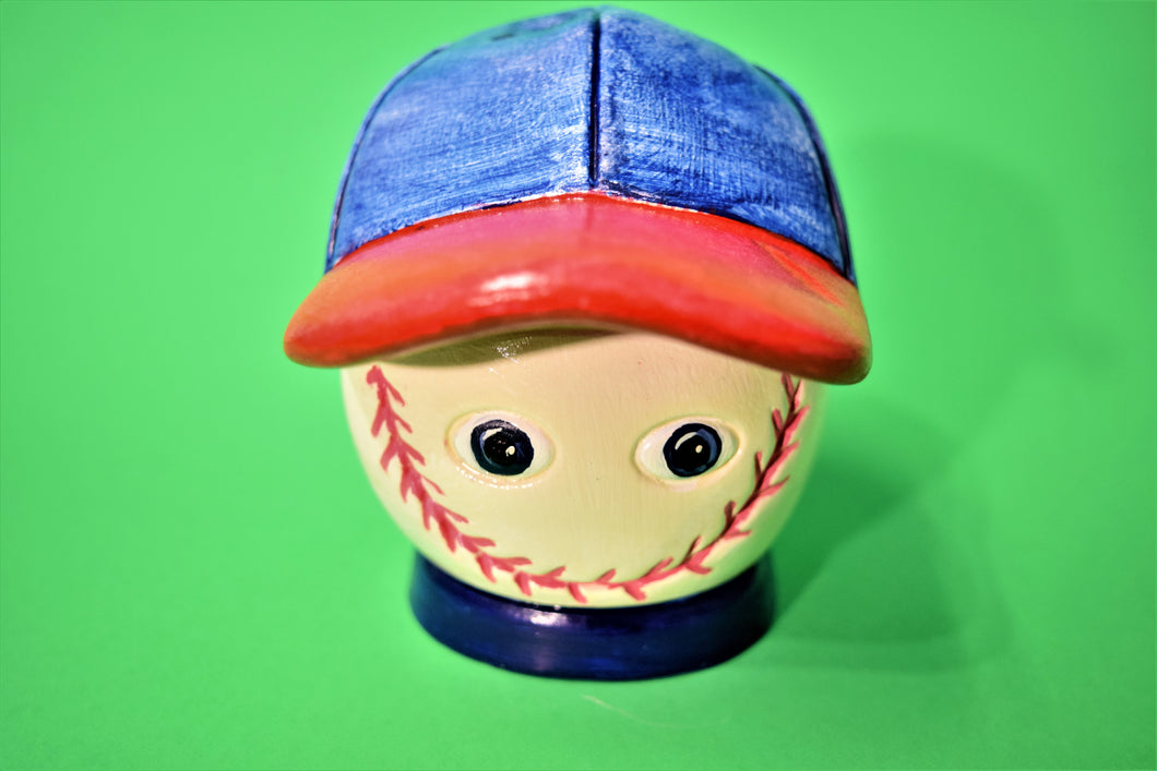 Baseball Ball Money Bank