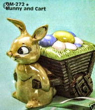 Load image into Gallery viewer, Ready To Paint Bunny with Cart