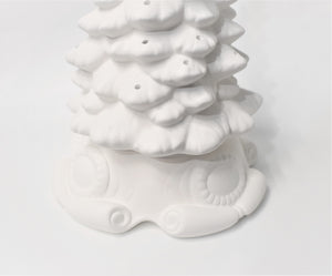 "Christmas Tree 11.5"" Height  Ready to Paint"
