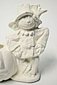 Scarecrow Small Planter