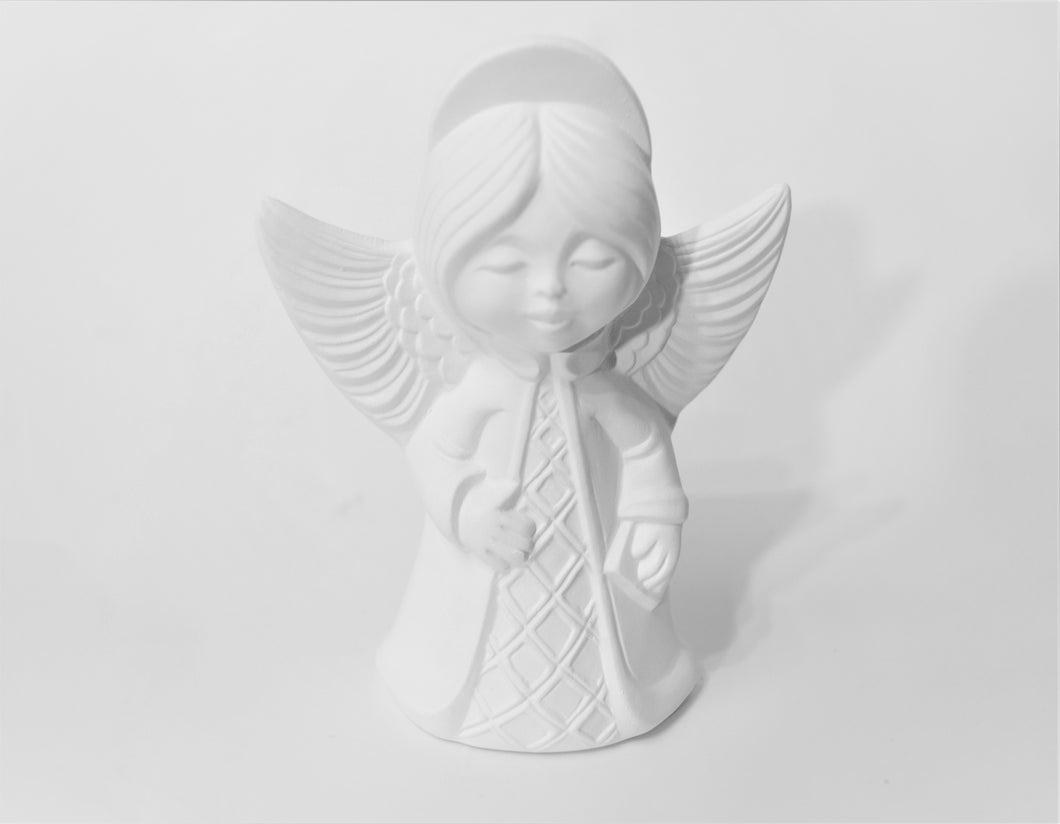 Christmas Tree Angel Top Ready to Paint