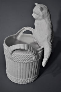 Cat Planter Ready to Paint.