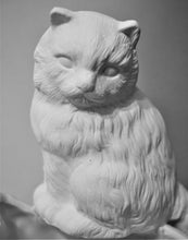 Load image into Gallery viewer, Cat Planter Ready to Paint.