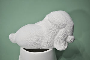 Dog Stocking Holder Ready to Paint