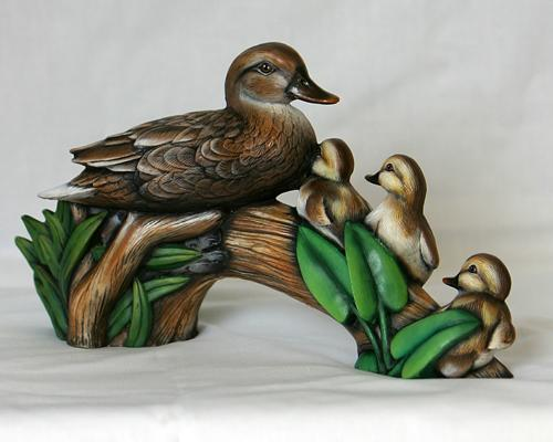 Ceramic Bisque Duckling.Ready-To-Paint Ducks.