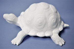 Large Turtle Ready to Paint.
