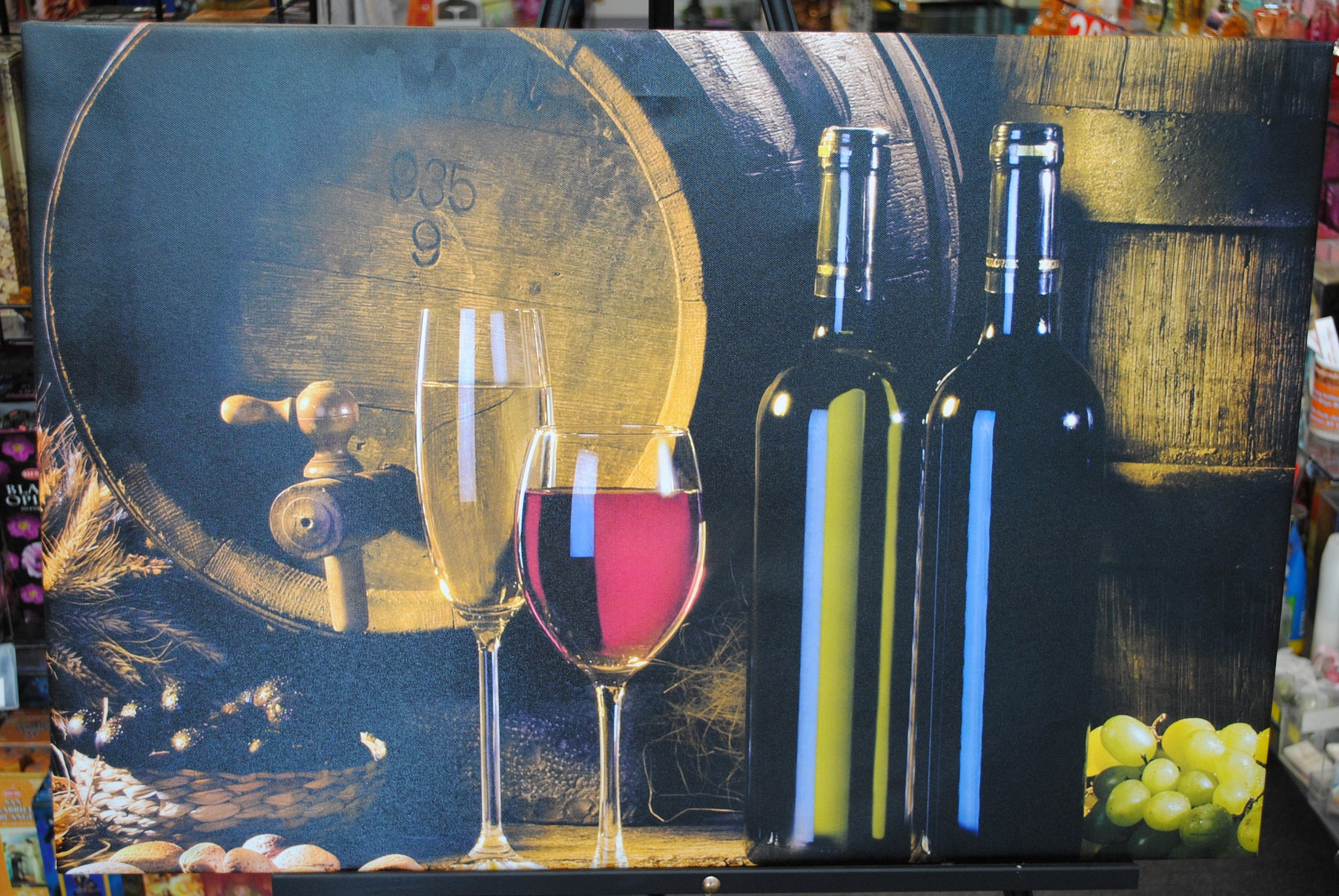 Wine Canvas Prints Digital Prints On Canvas Handmade Canvas Prints Ita Olga S Treasures