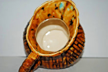 Load image into Gallery viewer, Brown Ceramic Milk Pitcher.